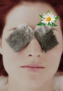 компресс для глаз из ромашки